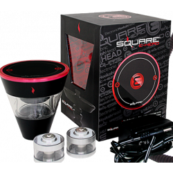 Square E-head 2400mAh Variable Voltage Elektronisk Hookah Kit
