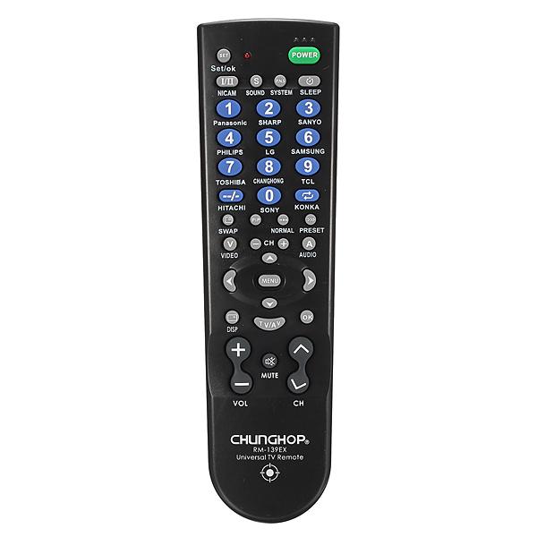 139EX Portable Universal TV Fjärrkontroll TCL Sony Mediaspelare