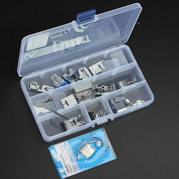 15 Pcs Sewing Machine Kit Foot Feet Accessory Set For Janome Toyota Electronic Accessories & Gadgets
