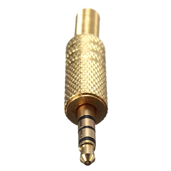 3.5mm 4 Pole Hane Repair Hörlurar Ljud Plugg Mediaspelare