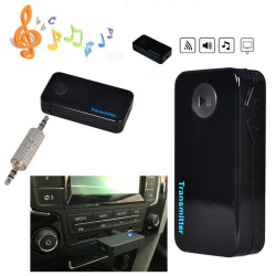 3,5 mm Stereo Bluetooth Audio Musik Sender Adapter für TV DVD Radio MP3 MP4