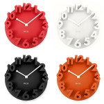 3D Dome Round Wall Clock For Home Fashion Modern Art Decorative Electronic Accessories & Gadgets