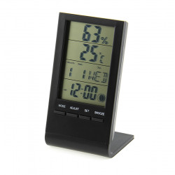 3 Inch LCD Multi-Functional Digital Thermometer / Hygrometer / Clock / Phases of the Moon