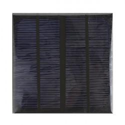 3W 6V Epoxy Monocrystalline Solar Panel Solar Cell Panel DIY Solar Charger Panel