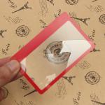 3X Vergrößerungslupe Objektiv Mini Kreditkartenformat Elektronischer Zubehör & Geräte