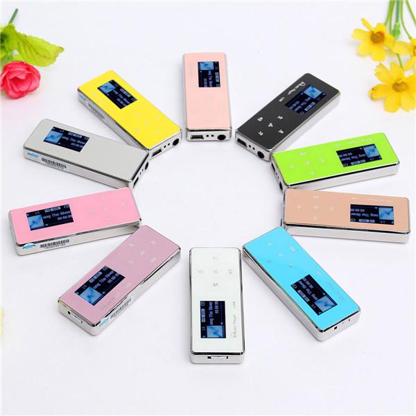 8GB nehmen digitale LCD Bildschirm Mp3 Musik Media Player Nehmen Sie mit Mikrofon und Kopfhörer Media Player