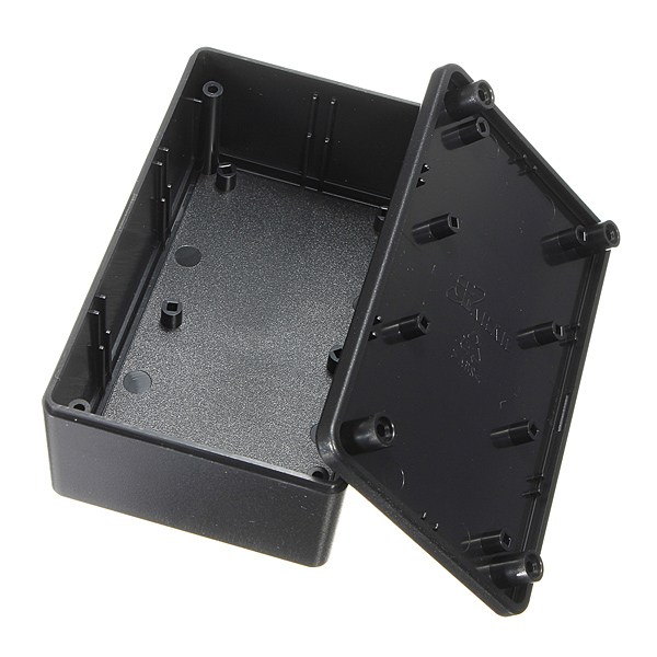 ABS Plastic Electronic Enclosure Project Box Black 103x64x40mm Electronic Accessories & Gadgets