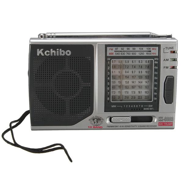 AM / FM / SW1-8 Radiomottagare Pointer Typ 10 Band Medium Wave Shortwave Mediaspelare
