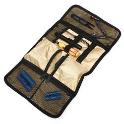 BUBM 11 Slot Resekabel Organizer Bag Fodral för iPhone iPod Penna Kort Elektronik Pryl