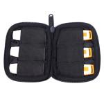 BUBM Case Opbevaring Protection Pose Taske til 6 USB Blitz Drives Batterier Kabler Earphone Medieafspillere
