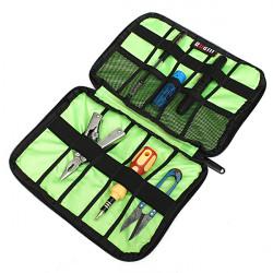 BUBM Multifunktionale wasserdichte 6 Farben Schützen Beutel Kasten für Kabel Pen Batterien Kopfhörer Kleine Tools USB Flash Laufwerk