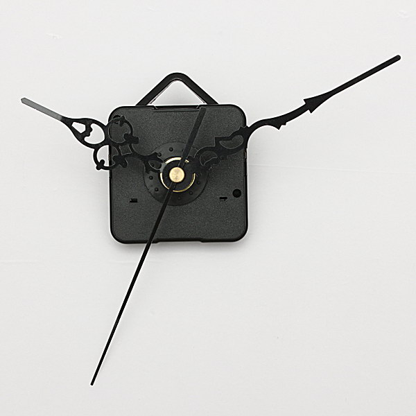 Black Hands DIY Quartz Wall Clock Spindle Movement Repair Parts Electronic Accessories & Gadgets