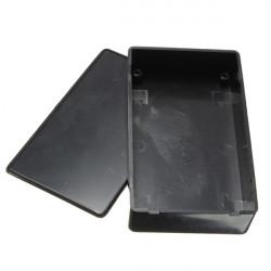 Svart Plast Elektronisk Box Instrument Fodral 100x60x25mm