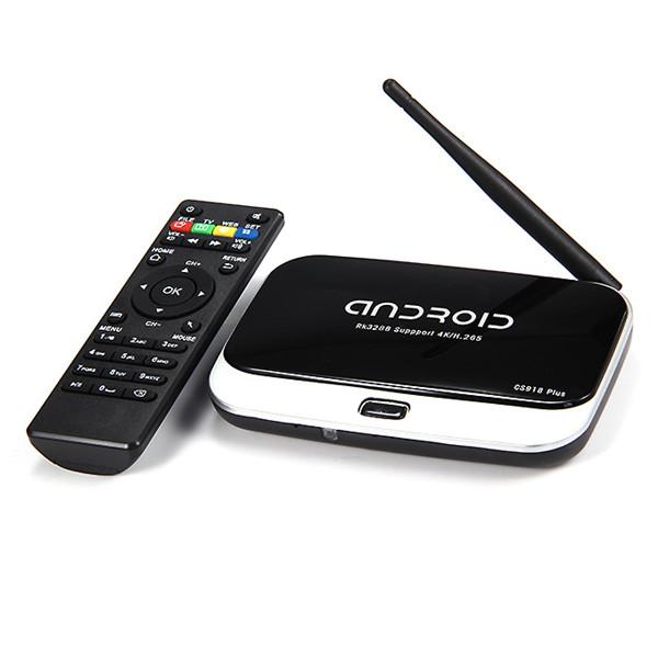 CS918 PLUS RK3288 2G RAM 8G ROM Quad Core XBMC KODI WiFi Bluetooth DLNA H.265 Decode Smart Android Mini Medieafspillere Medieafspillere