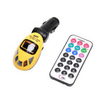 Car Kit Wireless MP3 Player Audio FM Transmitter USB SD MMC Slot Remote Media Players