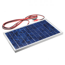 DIY 10W 18V Polysilicon Solar Panel For 12V Battery Charging