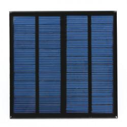 DIY 3W 12V 0-250MA 145x145x2.5mm Solpanel Polysilicon Solar Cell