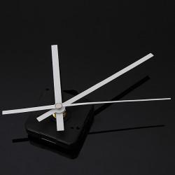 DIY White Hands Silent Quartz Movement Mechanism Wall Clock
