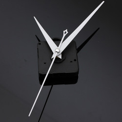 DIY White Triangle Hände Quartz Schwarz Wanduhr Movement Mechanism