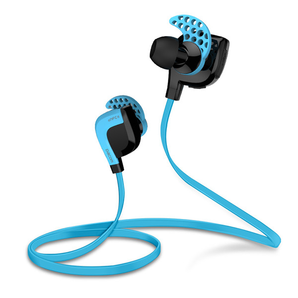 Dacom Lancer Two NFC Bluetooth Handsfree In ear Sport Earphone Stereo Bluetooth 4.1 Headphone With Mic For Tablet PC Smartphone Media Players