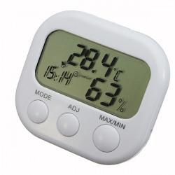 Digital LCD Alarm Thermometer Hygrometer Temperatur  und Feuchtigkeitsmessgerät