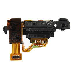 Ear Speaker + Headphone Audio Jack Connector Flex Cable