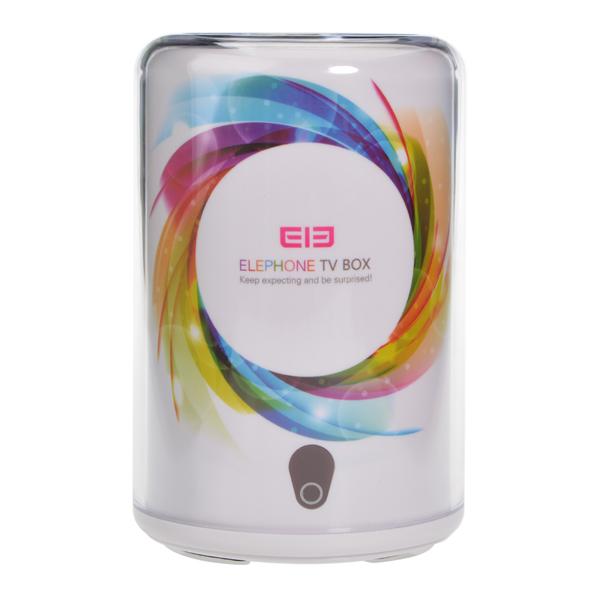 ELEFON Android 4.4 RK3188 8GB ROM Quad Core Smart TV Box mit WLAN Media Player