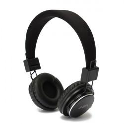Ewtto Wireless Bluetooth Stereo FM Mic Foldable Earphones Headphones Headset