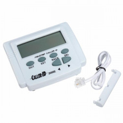 FSK / DTMF Caller ID Box + Kabel Handy einstellbare LCD Display