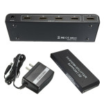 HDMI V1.4 4 Port Way HD 3D 1080P Distribution Amplifier Splitter 1x4 1 In 4 Out Media Players