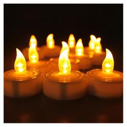 Halloween Electronic LED Candle Light Smokeless Flameless