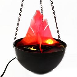 Halloween Pendant Fire Pit lamp Flame Lamp Decoration Chandelier