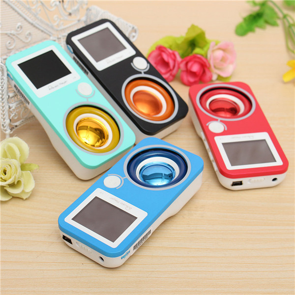 L3 Slim 8GB USB Digital LCD Screen MP3 Music Player With FM Radio Recorder Speaker Media Players