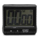 LCD Digital Küche Timer Count Down Up Clock lauten Alarm Schwarz Weiß Elektronischer Zubehör & Geräte