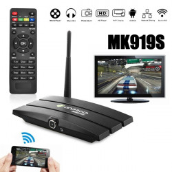 MK919s 2G+8G Android 4.4 Bluetooth 4.0 TV Box Camera Remote Control