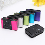 Mini 16GB MP3 Support SD TF Clip Audio WMA USB Sport MP3 Music Media Player With Earphone Media Players