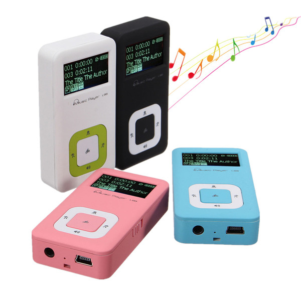 Mini 8GB Digital LCD Screen Mp3 Music Player FM Radio Record With Headphone Media Players
