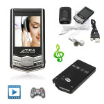 Mini 8GB MP3/MP4 Player Slim Style LCD FM Radio Video Media Photo View Music Media Players