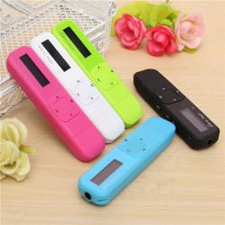 Mini 8GB USB MP3 Musik Player LCD-skärm FM Radio Diktafon Blixt Drive Pen