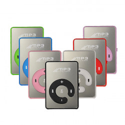 Mini Clip Music MP3 Player Support 8GB TF Card With USB Cable Earphone