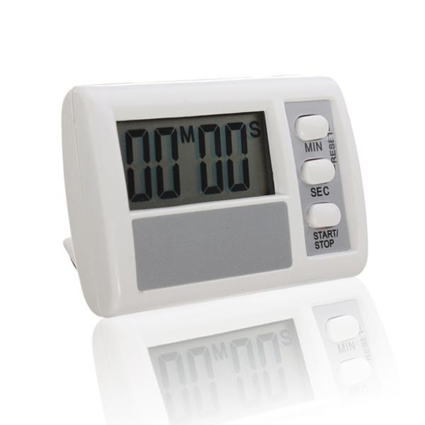 Mini Digital Count Down Countdown Timer LCD elektronische Alarmanzeige Elektronischer Zubehör & Geräte