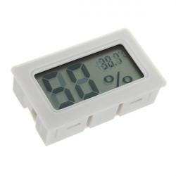 Mini Digital LCD Thermometer Feuchtigkeits Messinstrument Lehre Hygrometer Innen