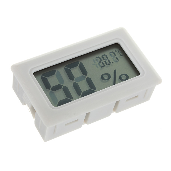 Mini Digital LCD Thermometer Humidity Meter Gauge Hygrometer Indoor Electronic Accessories & Gadgets