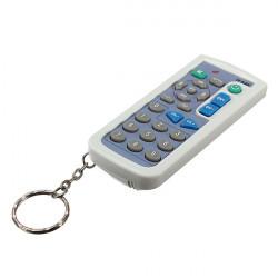 Mini Nyckelring Universalfjärrkontroll för TV Set SONY Panasonic TCL