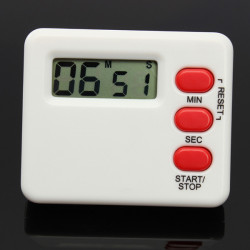Mini LCD Køkken Timer Nedtælling Digital Display 99 Minutes