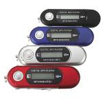 Mini MP3 Player 4GB USB Stich Memory Music LCD Screen FM Radio Media Players