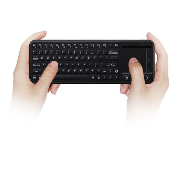 Mini Measy RC8 2.4G Remote Control USB Wireless Keyboard Gyroscope Air Mouse For Mini PC Android TV Box Media Players