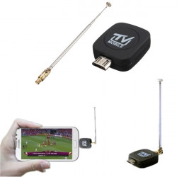 Mini Micro USB DVB-T Digital Mobile TV Tuner Receiver For Android Phone Tablet PC