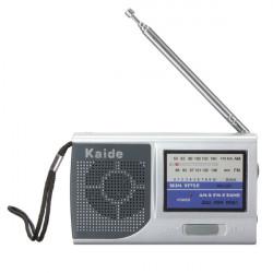 Tragbare Mini Pocket Rundfunk AM FM Radio Einstellbare 2 Bands Receiver DC 3V
