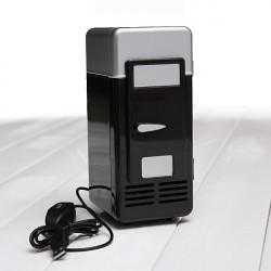 Mini USB LED PC Kühlraum Kühlraum Getränk Lebensmittel Kühler Wärmer ES9P